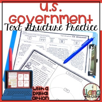 Exploring Text Structure with U.S. Government