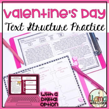 Exploring Text Structure with Valentine's Day