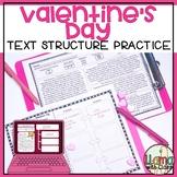 Valentine's Day Text Structure Practice