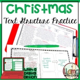 Christmas Text Structure Practice