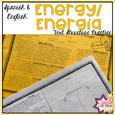Energy Text Structure Practice in English and Spanish