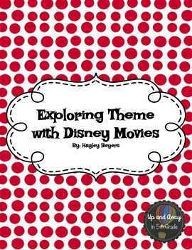 Exploring Theme in Disney Movies Recording Sheet