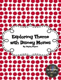 Exploring Theme in Disney Movies Recording Sheet