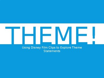 Exploring Theme with Disney Video Clips