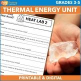Exploring Thermal Energy Unit: Heat Experiments, Website & More!