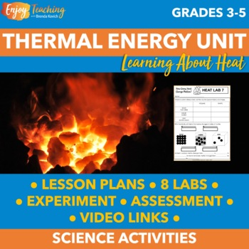 Thermal Energy Unit: Heat Activities, Experiment, Review & Assessment
