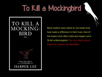 Exploring 'To Kill a Mockingbird'