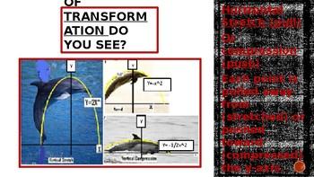 Exploring Transformations Algebraically