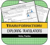 Exploring Translations (Coordinate Plane Transformations)
