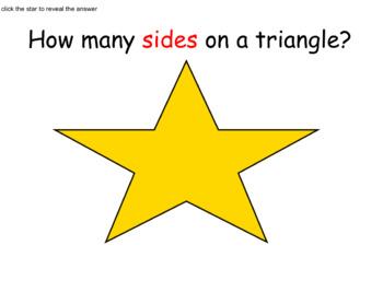 Exploring Triangles K-1 SmartBoard Lesson