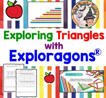 Exploring Triangles with Exploragons Partner Station Triangle Inequality Theorem