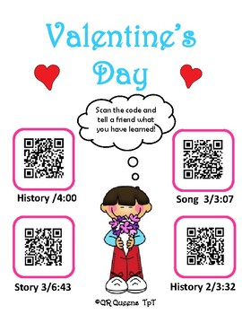 Valentine's Day Fun with QR Codes and Links