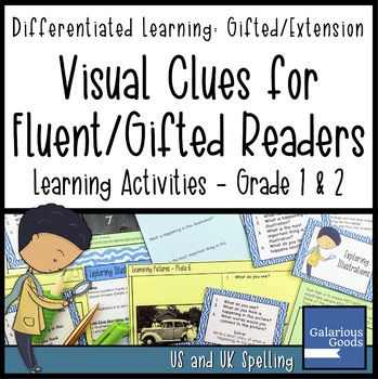 Exploring Visual Clues for Gifted Readers - Differentiated Learning Activities