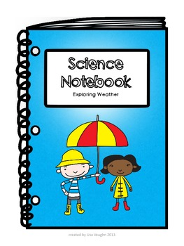 Exploring Weather: Interactive Science Notebook for 2nd graders