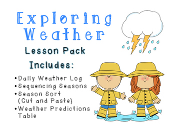 Exploring Weather and Seasons Science Resource Pack