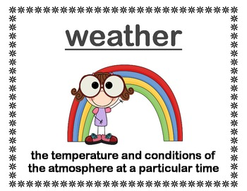 Exploring Weather...A Fun Unit for All!!!