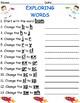 Exploring Word Families Pack