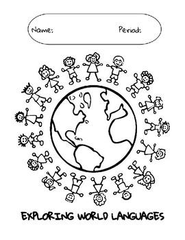 Exploring World Languages Binder Cover