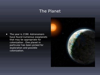 Exploring and Colonizing a New Planet for Heat and Temperature