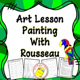 Art Lesson Painting and Color Mixing
