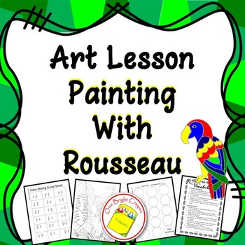 Color Mixing and Painting with Henri Rousseau - Fantasy Art