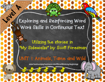 Exploring and Reinforcing Word Work Skills in Continuous Text: My Sidewalks