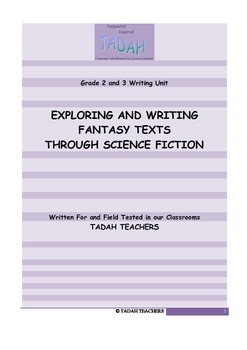 Exploring and Writing Fantasy Texts Through Science Fiction