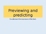 Exploring  blurbs -previewing and predicting