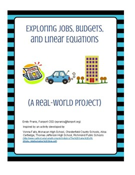Exploring jobs, budgets, and linear equations