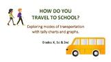 Exploring modes of transportation to school.