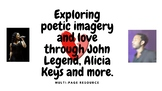 Exploring poetic imagery through John Legend, Alicia Keys