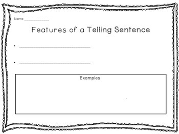 Exploring the 4 sentence types: telling, commanding, asking, exclaiming