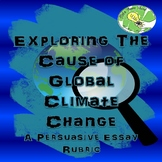 Climate Change Writing- A Persuasive Essay Rubric