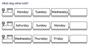 Exploring the Days of the Week & Seasons