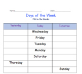 Exploring the Days of the Week & Seasons