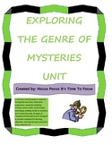 3rd-5th Reading Mysteries Bundle 15  Lessons & Forensic Sc