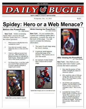 Exploring the Hero's Journey through Spider-Man Comics