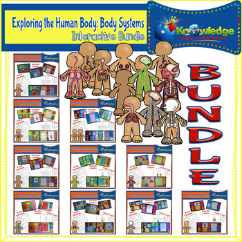 Exploring the Human Body: Body Systems Interactive Lapbook BUNDLE