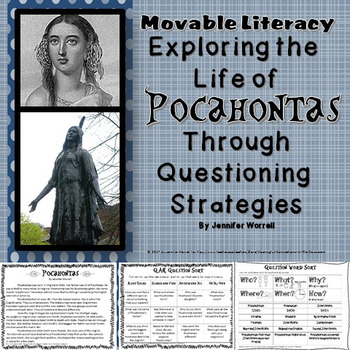Exploring the Life of Pocahontas Through Questioning Strategies