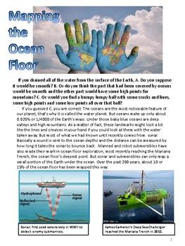 Exploring the Ocean Floor
