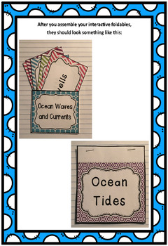 Exploring the Ocean Interactive Foldable Booklets