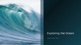 Exploring the Ocean Powerpoint