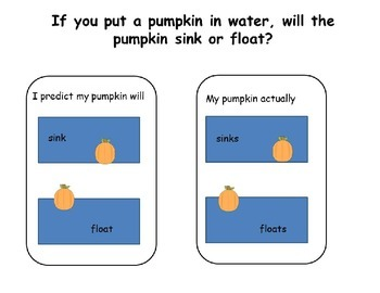 Exploring the Pumpkin Patch:  A Science Response Journal for Young Learners