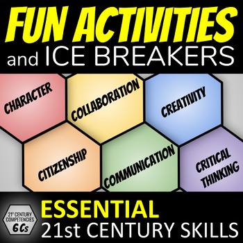 Build Class Community: Fun Activities & Ice Breakers (21st Century Skills)