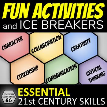 Build Class Community: Fun Activities & Ice Breakers (21st Century Skills)
