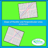 Geometry:  Slope of Parallel and Perpendicular Lines - An Exploration