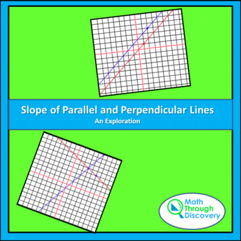 Geometry:  Slope of Parallel and Perpendicular Lines - An
