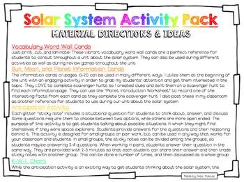 Exploring the Solar System - Common Core Aligned MEGA Pack
