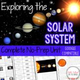 Solar System No Prep Unit | Distance Learning Google Classroom