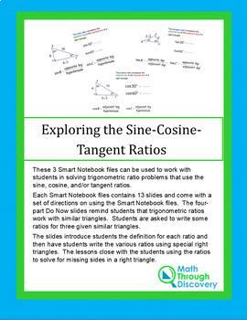 Geometry:  Exploring the Tangent Ratio